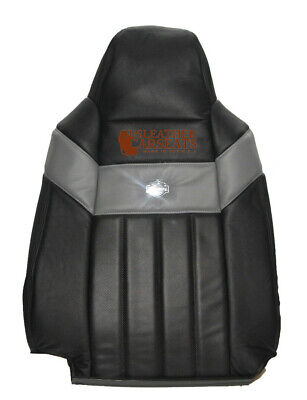 $189.99 • Buy 2005 Ford F250 Harley Davidson Driver Side Lean Back Leather Seat Cover BLACK