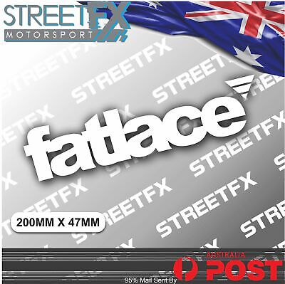 AU5.96 • Buy FATLACE JDM Sticker Decal Phat Illest Phat HellaFlush Stance