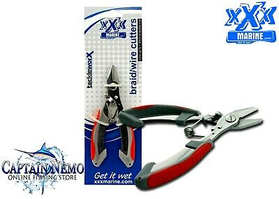AU14.95 • Buy Xxx Marine Stainless Steel Braid Wire Line Fishing Tool Cutter Tackle Pliers Ft1