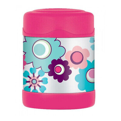 AU18.50 • Buy Thermos Food Jar 290ml Flowers Kids Lunch Box Hot Cold AUTHENTIC Fast Shipping