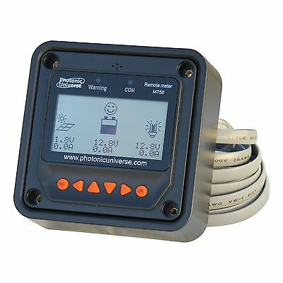 £28.99 • Buy Remote Meter / Display MT50 For MPPT And PWM Solar Charge Controllers