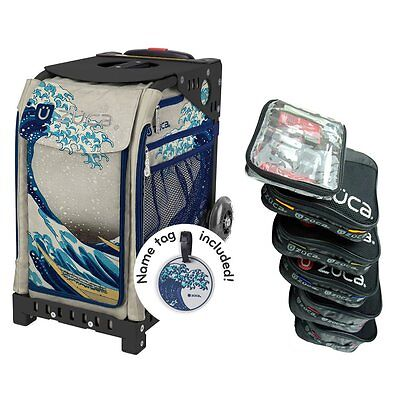 £178.95 • Buy Zuca GREAT WAVE Sport Insert Bag With Black Frame And Packing Pouch Set