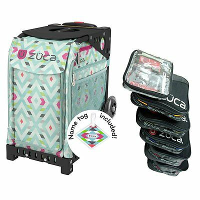 £178.95 • Buy Zuca Chevron Sport Insert Bag With Black Frame NON-Flash + PRO Packing Pouch Set