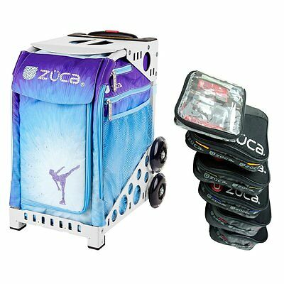 £186.22 • Buy Zuca ICE DREAMZ Sport Insert Bag With White Frame & Packing Pouch Set