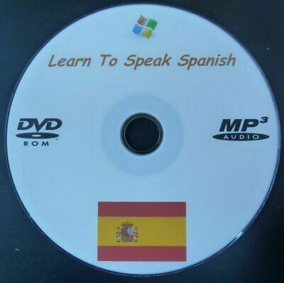 £3.99 • Buy Learn To Speak Spanish - Language DVD, MP3 & PDF Extensive Training Course