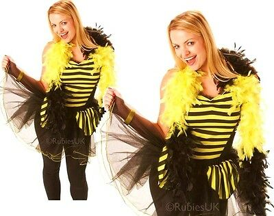 Ladies BUMBLE BEE Fancy Dress Costume Adult Insect Party Womens Lady Bug Outfit  • 4.95£
