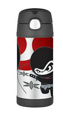 AU16 • Buy THERMOS Drink Bottle Ninja AUTHENTIC Kids Lunch Box