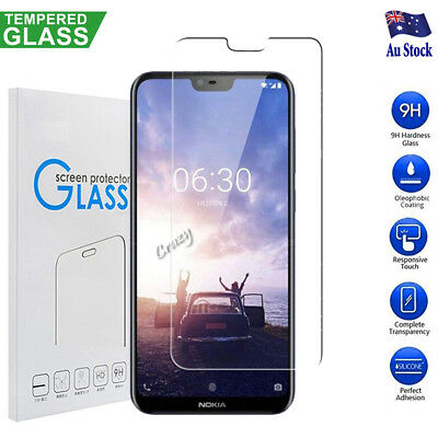 AU3.95 • Buy Tempered Glass Screen Protector For Nokia 2.1 /3 /5 /6 Nokia 6.1 /7 Plus /8