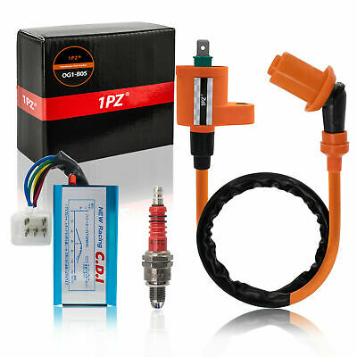 $18.50 • Buy DERESTRICTED RACING CDI+IGNITION COIL+Spark Plug - HONDA SPREE NQ50 AERO NB50