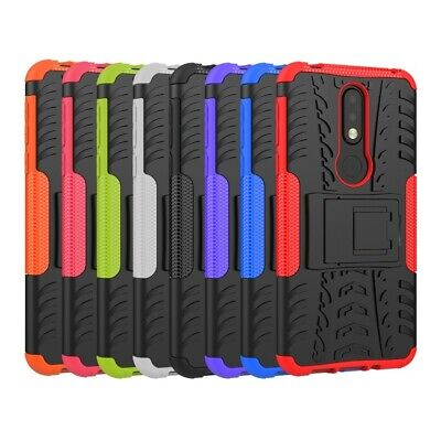 AU8.99 • Buy Tough Heavy Duty Shockproof Rugged Case Cove For Nokia 3.1 6.1 Plus 7.1 Case