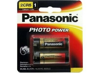 $ CDN14.75 • Buy Panasonic 2CR5 6 Volt Lithium Battery (245, DL245, EL2CR5)