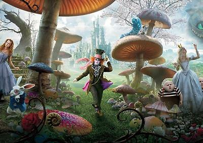 £8.99 • Buy ALICE IN WONDERLAND POSTER Mad Hatter Tim Burton Photo Print Poster A4 A3