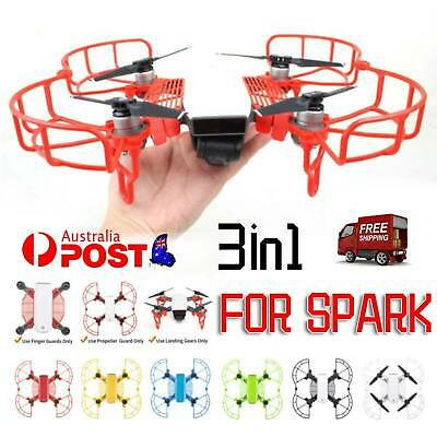 AU24.95 • Buy Propeller Blades Protector Landing Gear Hand Guard Quick Release For DJI Spark