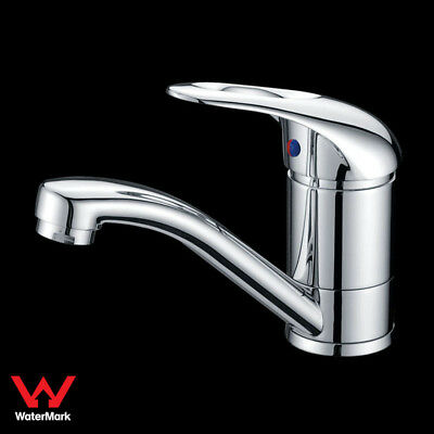 AU45.80 • Buy Bathroom Swivel Vanity Basin Mixer Tap Faucet Handle With Hole Brass Chrome WELS