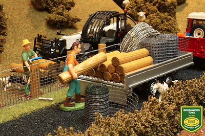 Brushwood Toys 1:32 Scale Diy Stock Fencing Pack Bt3001 (mib)  • 17.95£