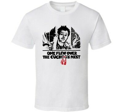 £15.27 • Buy One Flew OVer The Cuckoo's Nest Movie T Shirt