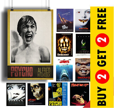 £7.99 • Buy Horror Movie POSTERS A3 A4 Size Film Wall Art Print, Valentines Day, Home Decor
