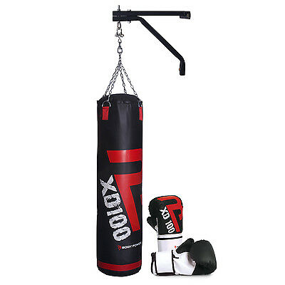 BodyPower™ Boxing Starter Kit (w/ Small Boxing Gloves PU Punch Bag, Wall Bracket • 109.99£