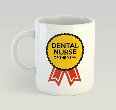 Dental Nurse Award Funny Mug Gift Novelty Humour Birthday Dentist • 9.99£