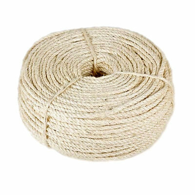 Natural Sisal Rope Cat Cats Scratching Post Claw Control Toys Crafts Pets Animal • 6.99£