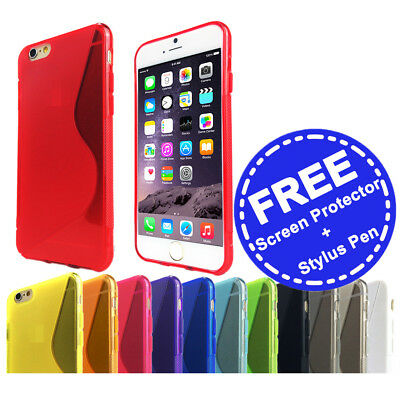 AU3.95 • Buy Slim Soft Gel Case Tough Silicone Cover For Apple IPhone 5 5c SE 6 6s 7 Plus 8 X