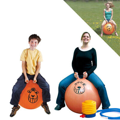 Large Exercise Retro Space Hopper Play Ball Toy Kids Adult Game 60cm / 80cm  • 11.76£