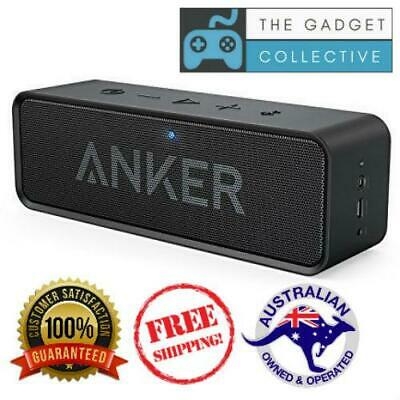 AU93.45 • Buy Anker Soundcore Portable Bluetooth Speaker W Mic 24 Hour Battery 20m Range BLACK