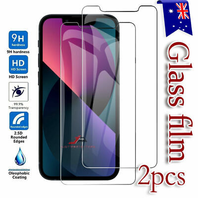AU3.95 • Buy 2 X Tempered Glass Screen Protector Film For Apple IPhone 8 / 7 Plus 6 6s Plus X