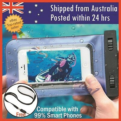 AU7.80 • Buy For Iphone 7 Plus 6 6s Plus Waterproof Underwater Photo Case Phone Dry Bag Pouch