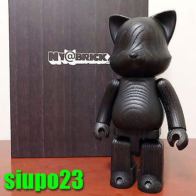 $999.99 • Buy Medicom 400% Ny@rbrick ~ Cat Wood Ny@bric Black Color (Bearbrick Be@rbrick)