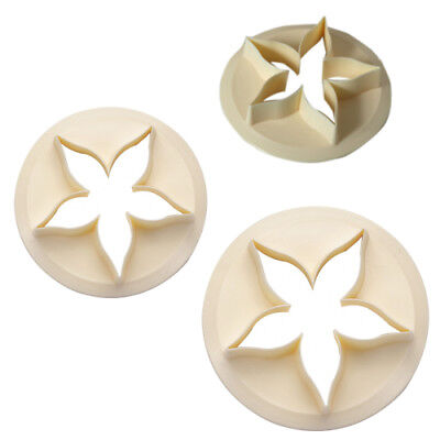 FMM Cutter Rose Calyx Cutter Flower Stencil Shape Tool For Sugarcraft Sugarpaste • 3.99£