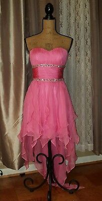 £28.94 • Buy Pink Paparatzia Coctail Dress, Pink, Size Small