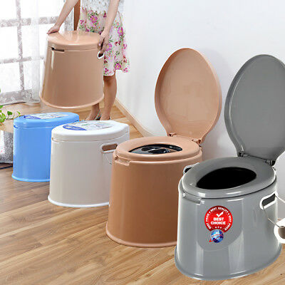 6l Large Portable Toilet  Potty Loo Pool Camping Caravan Picnic Festival • 19.89£