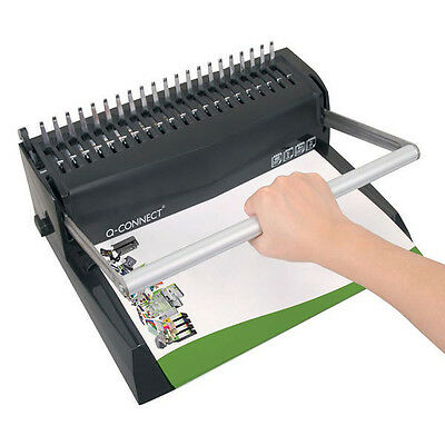 £49 • Buy Premium Value Comb Binder Manual Quality Binding Machine Binds Up To 450 Sheets