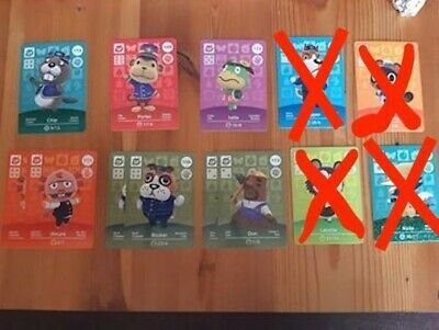 AU4 • Buy Animal Crossing Amiibo Series 2 Cards # 101-200 - Pick From The List
