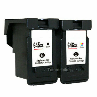 AU32.80 • Buy Generic Ink Canon PG-645XL CL-646XL For Pixma MG2965 MX496 MG2460 TS3160 TS3360