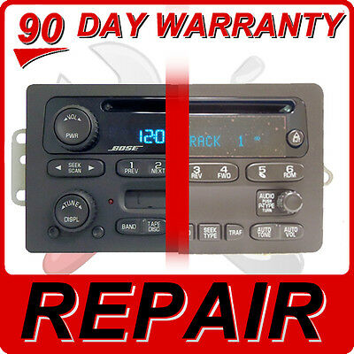 $148.20 • Buy REPAIR YOUR GM Radio Chevy GMC Silverado Avalanche Sierra CD Player Disc FIX OEM
