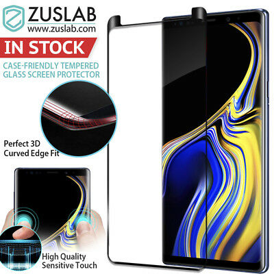 $ CDN11.92 • Buy Galaxy Note 9 8 Case Friendly Zuslab Tempered Glass Screen Protector For Samsung