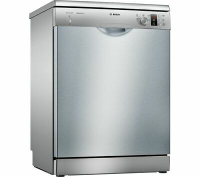 View Details BOSCH Serie 2 SMS25EI00G Full-size Dishwasher - Silver - Currys • 399.99£