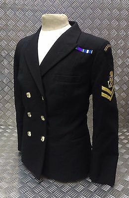 £59.99 • Buy Genuine Royal Navy Woman's No1B Double Breasted Dress Jacket WRNS Officers