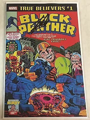 £212.47 • Buy Marvel True Believers Black Panther #1 Reprint Signed By Stan Lee W/COA
