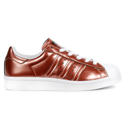 $ CDN79.99 • Buy Adidas Women's Superstar Boost Copper Metallic/White Shoes BB2270 NEW
