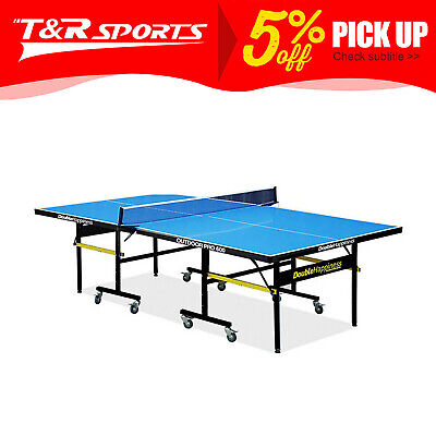 AU682.99 • Buy OUTDOOR Pro 600 Table Tennis/Ping Pong Table Double Happiness Free Accessories