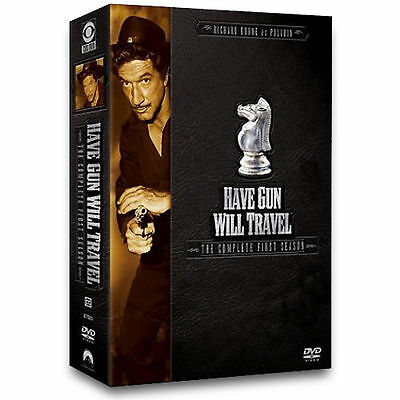 $8.99 • Buy Have Gun Will Travel - The Complete First Season BRAND NEW 6 DVD SET! SEALED!