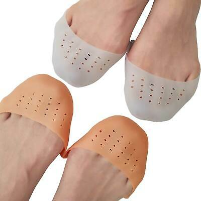 $11.99 • Buy Chiroplax Ballet Pointe Toe Pads Cushion Gel Toe Sleeve Caps (2 Pairs)