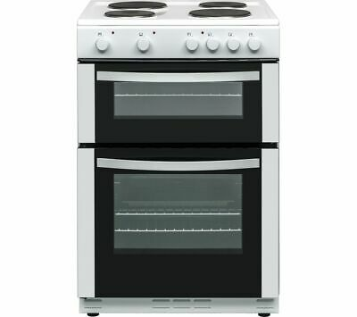 £249 • Buy ESSENTIALS CFTE60W17 60 Cm Electric Solid Plate Cooker - White - Currys