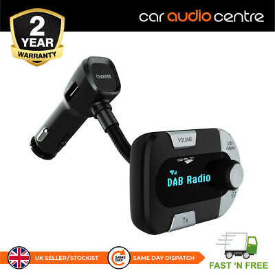 £28.99 • Buy Universal DAB Radio Receiver Compatible With Any FM Radio In Car Charger USB