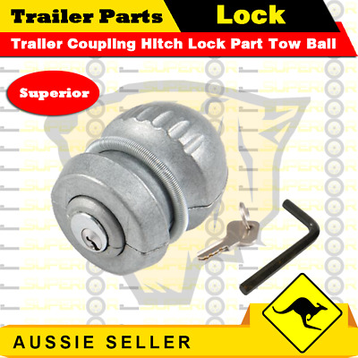 AU24.99 • Buy Superior Trailer Coupling Hitch Lock Part Tow Ball Caravan Anti Theft Tool Kit