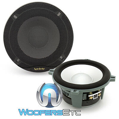 $199.99 • Buy 2 Mids Only Kappa Perfect Infinity 5.25  Pro 400w Midranges Midbass Speakers New
