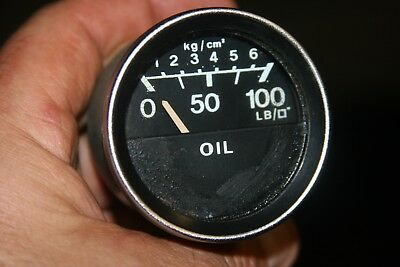 Your mg midget oil pressure temperature gage